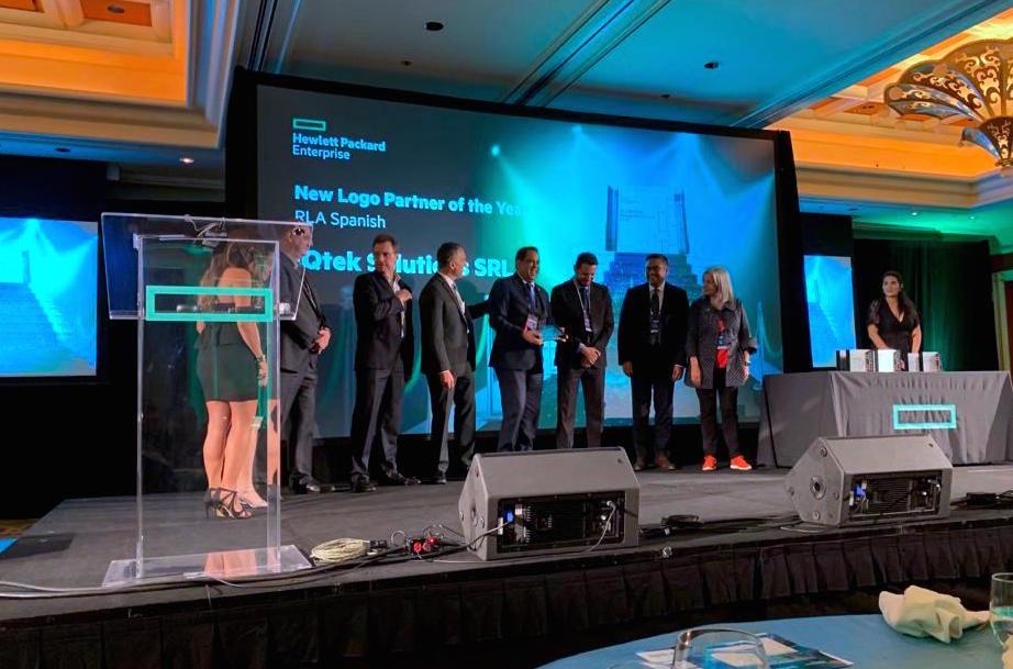 IQtek recibe reconocimiento HPE RLA Performance Partner Recognition Award FY18